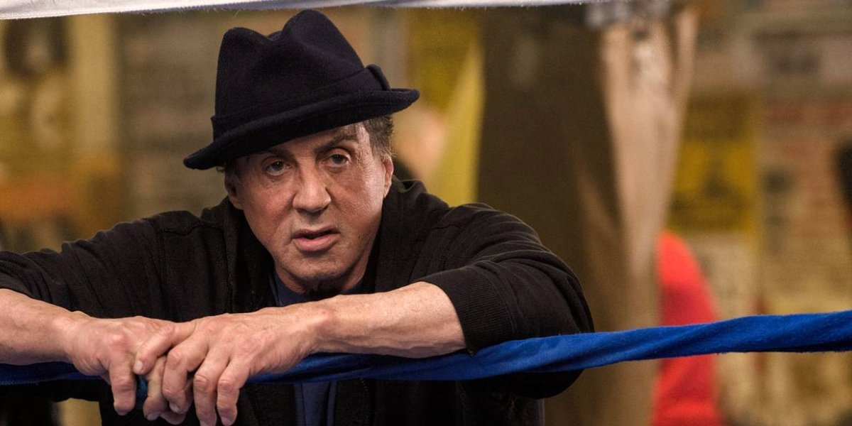 Sylvester Stallon as Rocky Balboa in Creed