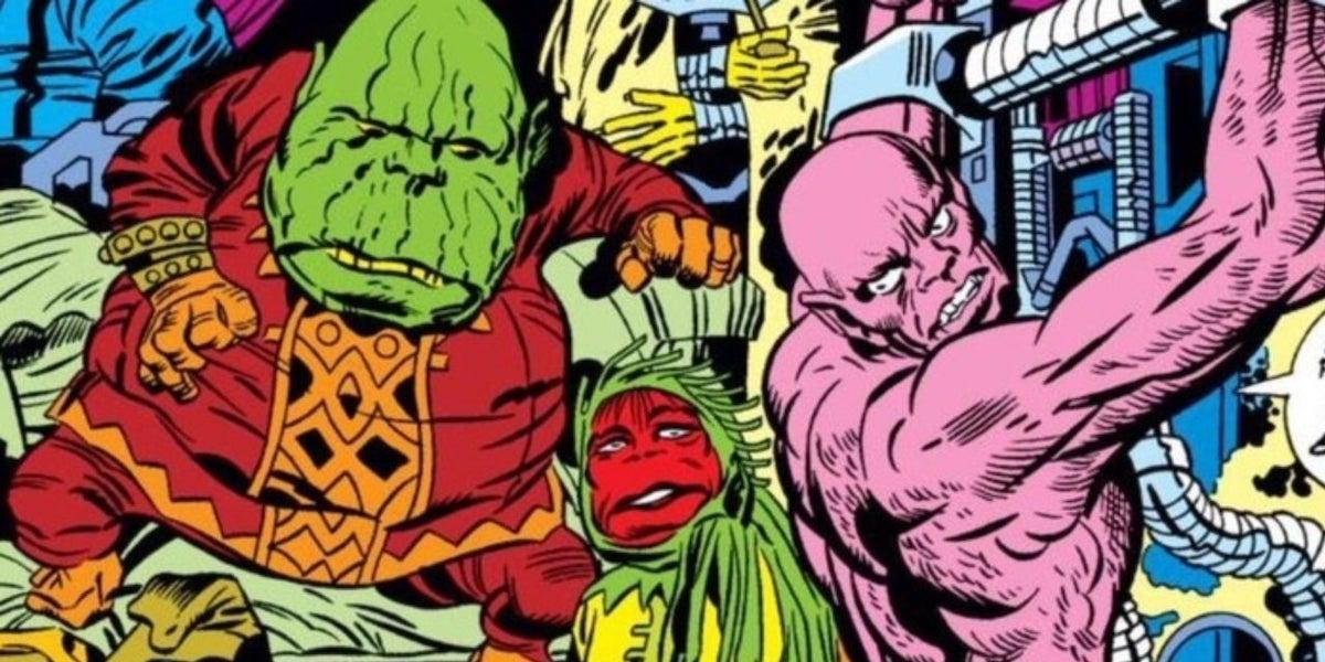 Deviants in the Eternals comics