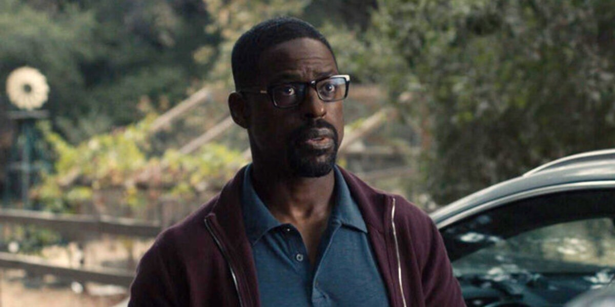 Randall Pearson in the show, This Is Us.