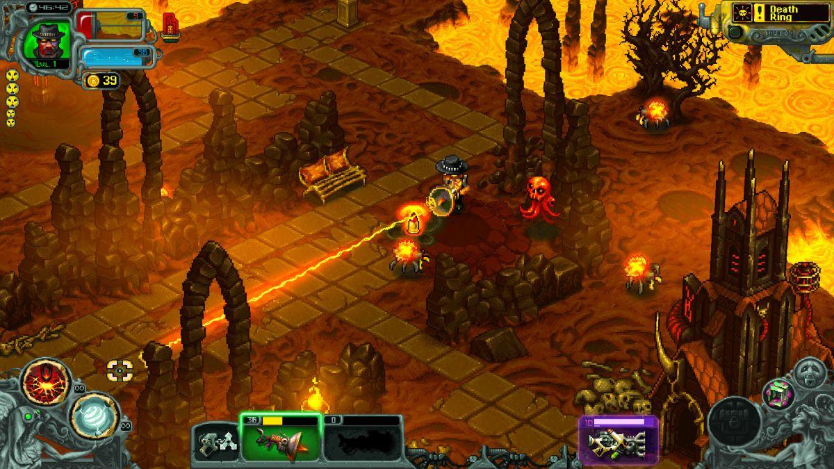 Twin-stick roguelite I, Dracula: Genesis hits early access