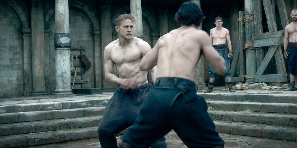 Charlie Hunnam in King Arthur