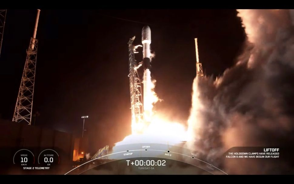 SpaceX launches Turksat 5A communications satellite for Turkey, lands rocket