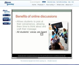 Video Tutorial: Benefits of Online Discussions