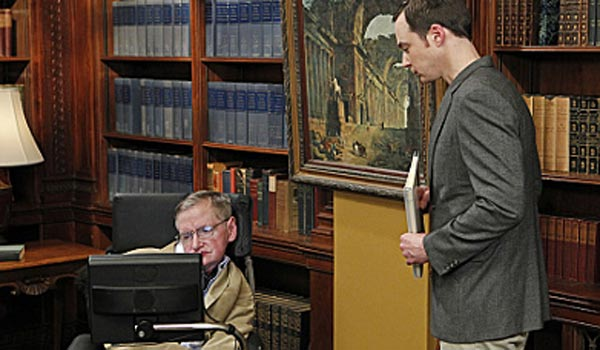 stephen hawking sheldon the big bang theory cbs