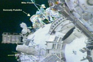 Third Spacewalk a Breeze for Space Station Crew