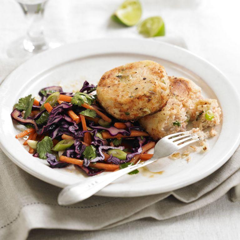 Salmon Ginger Fishcakes recipe-Salmon recipes-recipe ideas-new recipes-woman and home