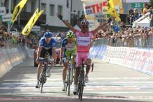 Joaquim Rodriguez (Katusha) sprinted passed all his GC rivals
