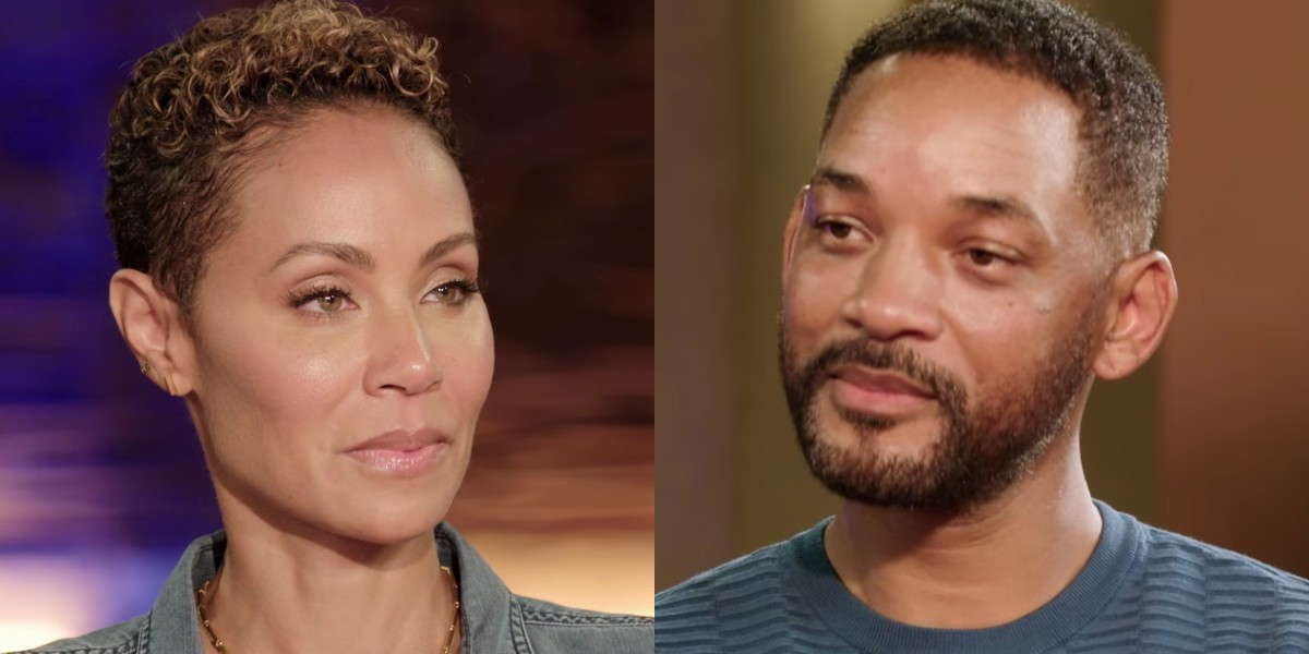 Jada Pinkett Smith and Will Smith on Red Table Talk (2020)