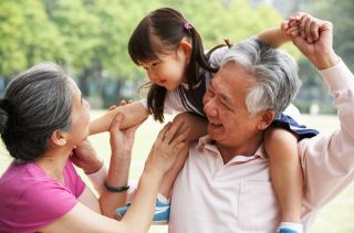 Grandparents and Grandchildren Can Protect Each Other's