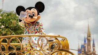 Mickey Mouse at magic Kingdom