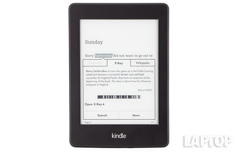 Amazon Kindle Paperwhite 2013 Review E Reader Laptop