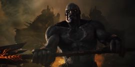 Zack Snyder Almost Gives Away The 'Super Cool' Way Darkseid Will Communicate In Justice League