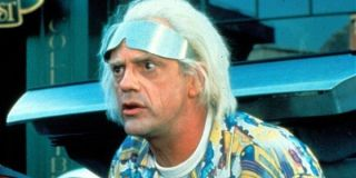 Dr. Emmett Brown Christopher Lloyd Back To The Future Part 2