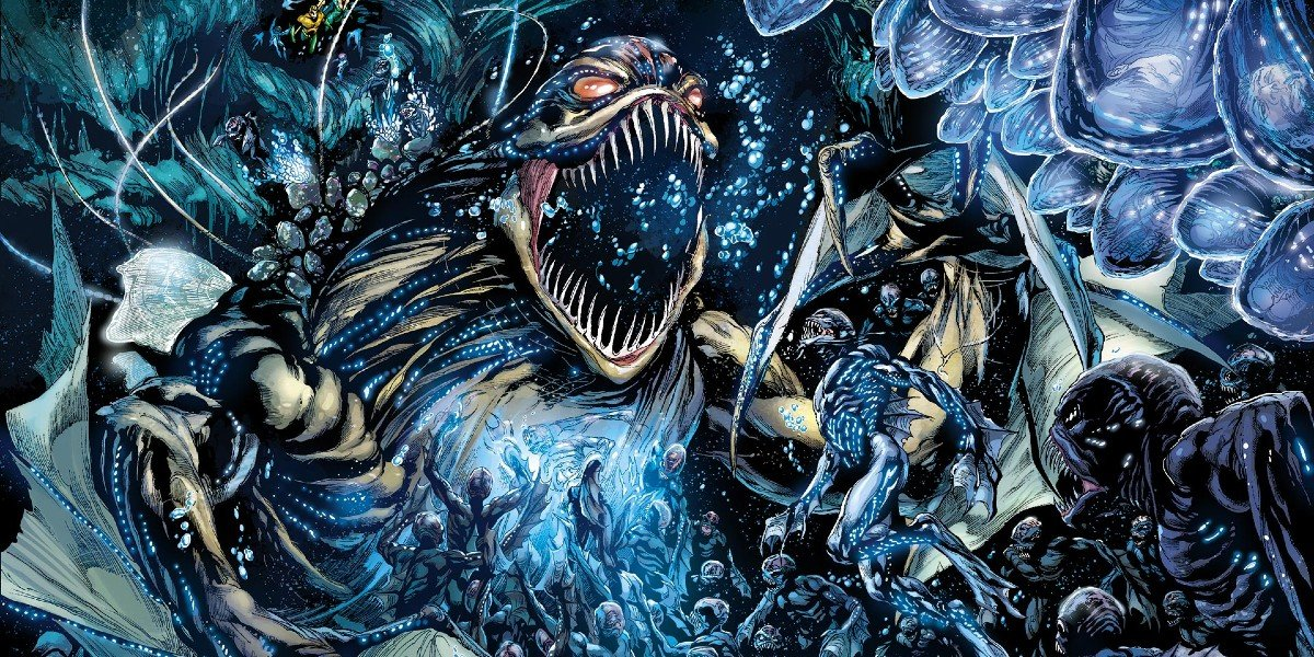Aquaman Trenches Comic
