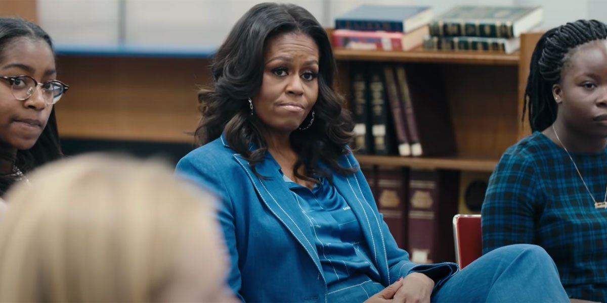 Michelle Obama in Becoming trailer
