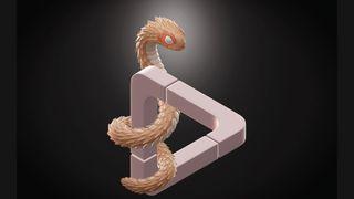 Create 3D optical illusions