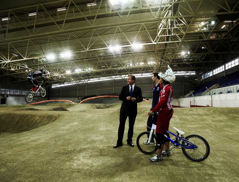 david cameron, british cycling