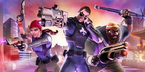 Three Agents of Mayhem get ready for battle.