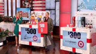 Ellen DeGeneres hosts her annual 12 Days of Giveaways.