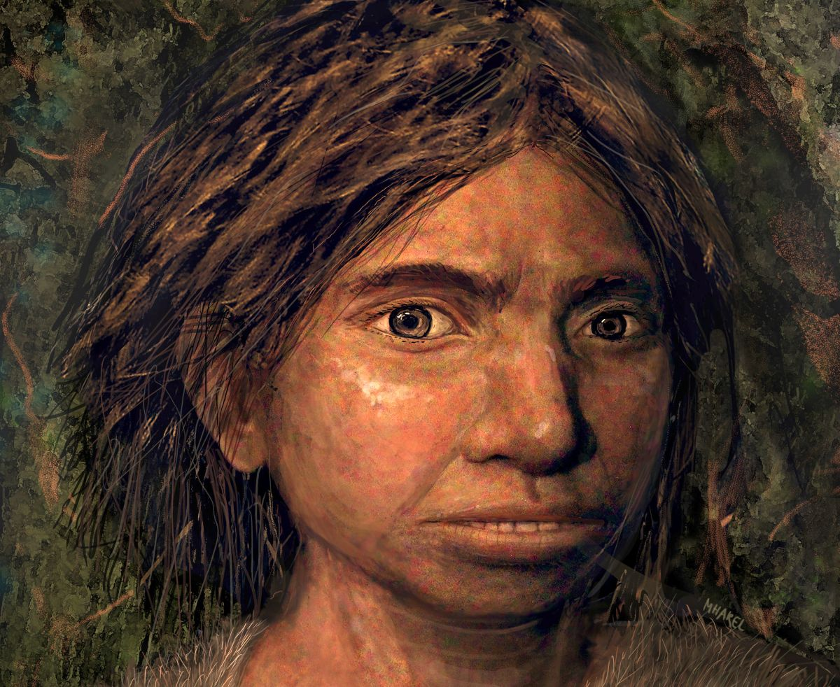 Extinct Denisovan Woman Gets Her First Portrait Thanks to DNA from Her Pinky Bone