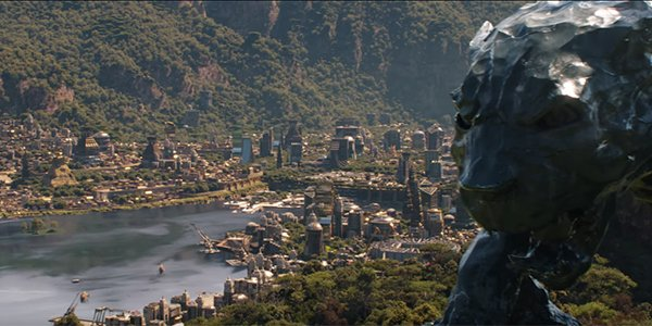 Wakanda in Avengers: Infinity War