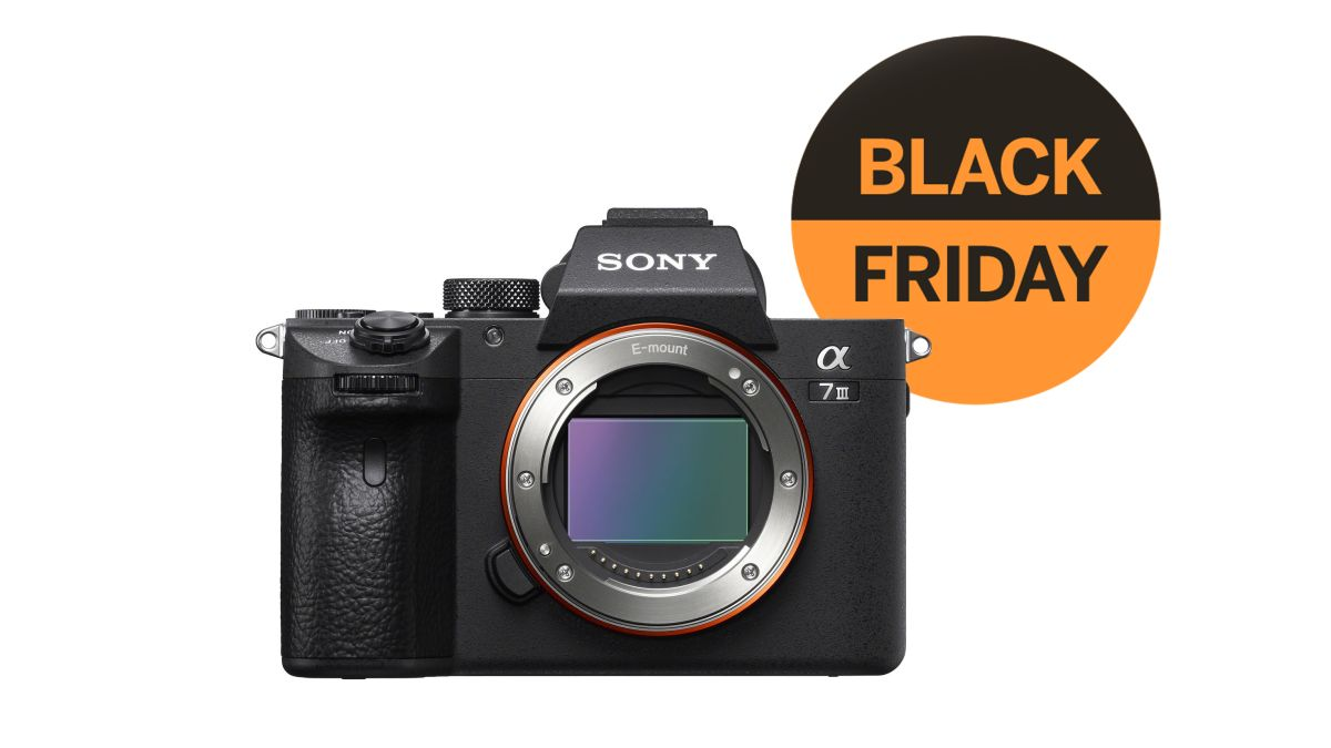 Best Black Friday camera deal: Sony A7 III is best price ever!