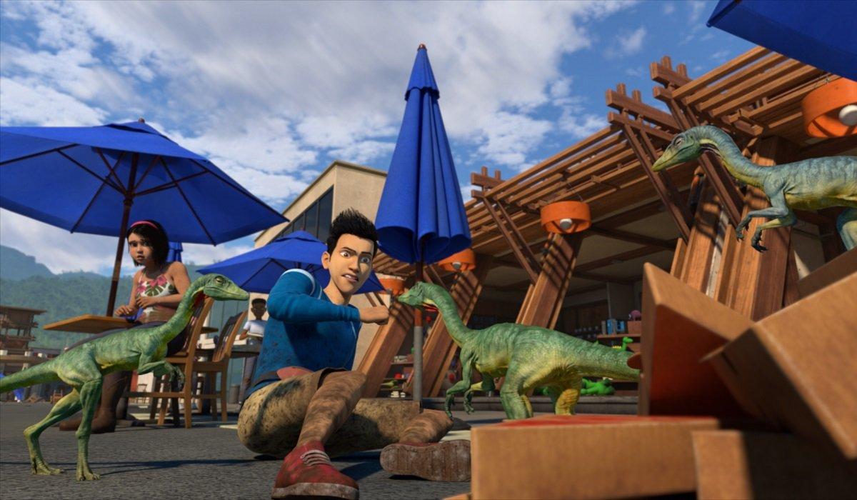 Jurassic Park: Camp Cretaceous Netflix