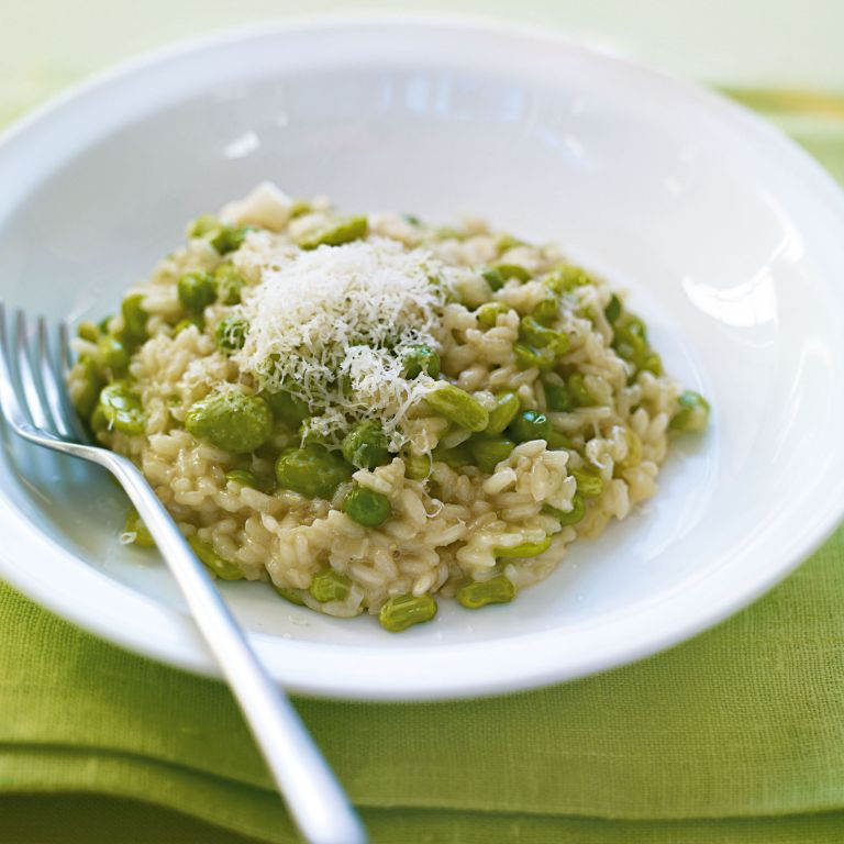 Freezer Greens Risotto recipe-vegetable recipes-recipe ideas-new recipes-woman and home