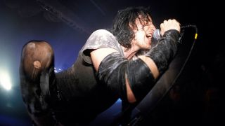 Nine Inch Nails performing live