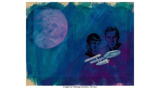 Stunning 'Star Trek' Comic Art Sells for Nearly $14K in Recent Auction