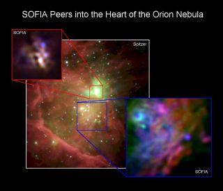 Orion Nebula SOFIA