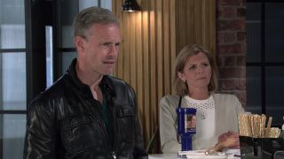 Leanne Battersby and Nick are furious with pushy Debbie.