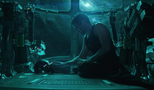 Avengers: Endgame Tony Stark records a message