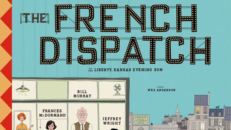 The French Dispatch poster is a meticulous masterpiece