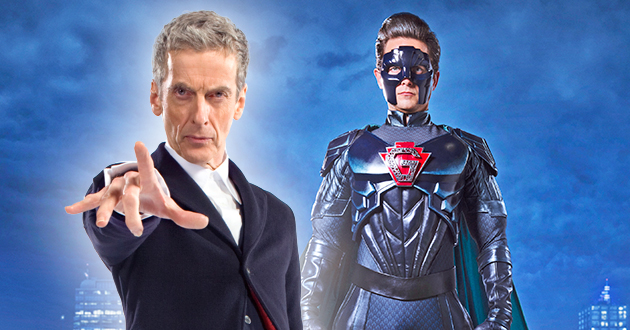 Doctor Who Christmas Special 2016.Doctor Who Christmas Special Goes Superhero In New York