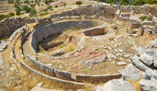 mycenaen acropolis ruins