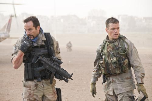 Green Zone - US soldiers Lt Briggs (Jason Isaacs) & Roy Miller (Matt Damon) find themselves on opposite sides in post-invasion Iraq in this gripping action thriller