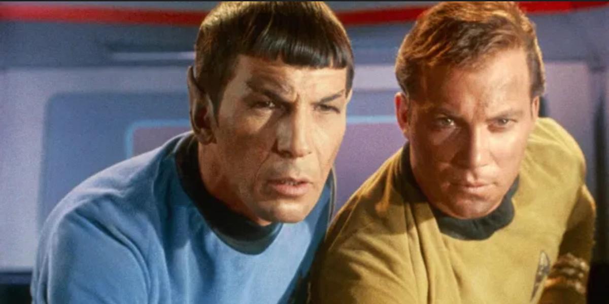 spock leonard nimoy kirk william shatner star trek series