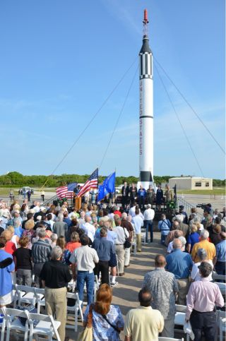 NASA commemorates the 50th anniversary of the first American spaceflight, the Freedom 7 launch of Alan Shepard.