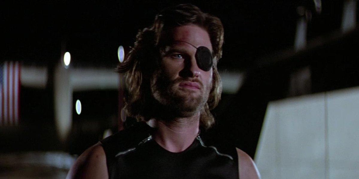 Kurt Russsell in Escape From New York