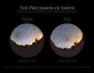 Earth Precession Claro