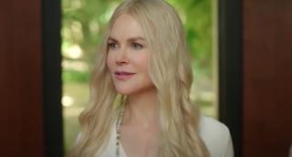 Nicole Kidman looks serene as Masha in Nine Perfect Strangers