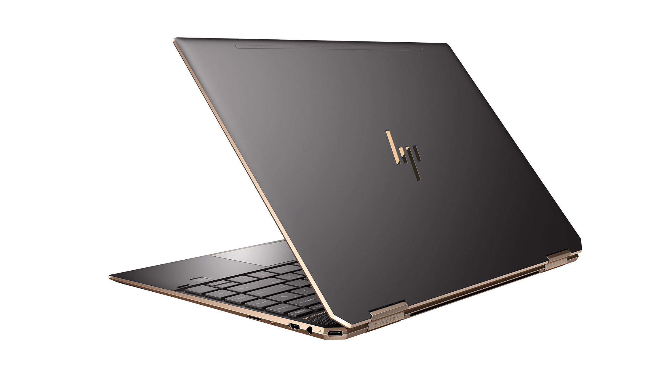 Image of the back of the HP Spectre x360 laptop
