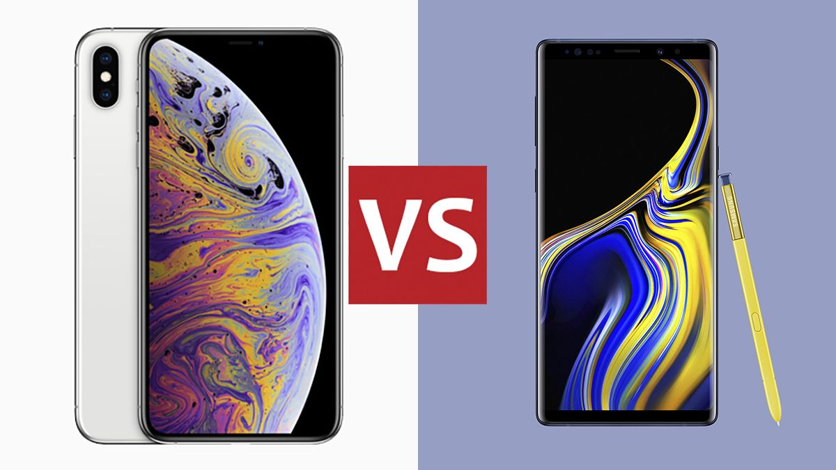 Apple iPhone XS Max vs Samsung Galaxy Note 9: clash of the smartphone titans