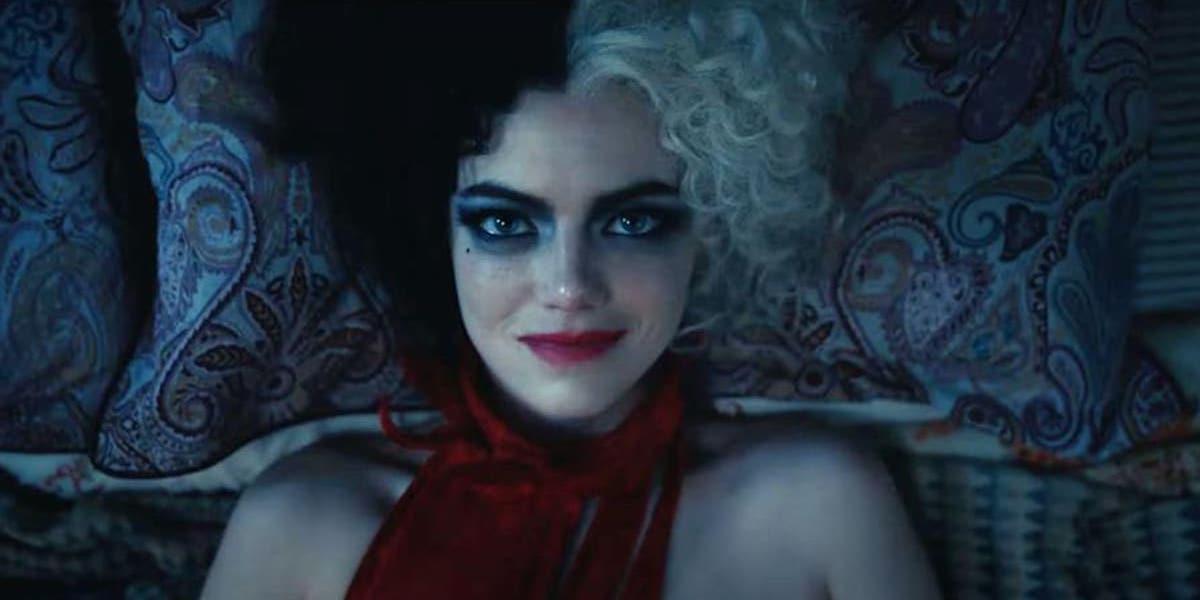 Emma Stone as Cruella in Disney movie