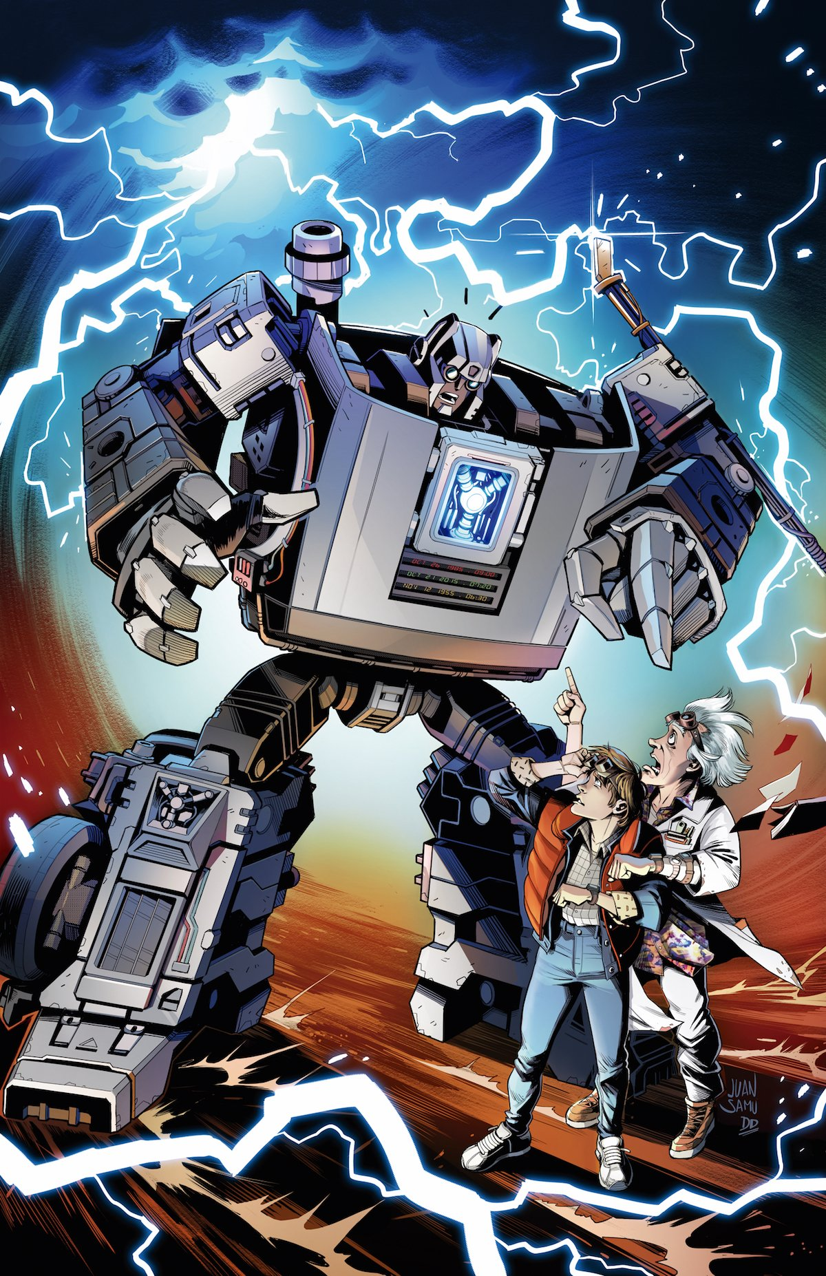Transformers / Back to the Future Gigawatt cover