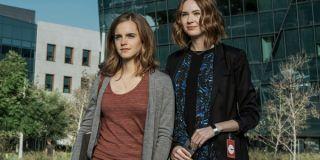 The Circle Emma Watson Karen Gillan On Campus