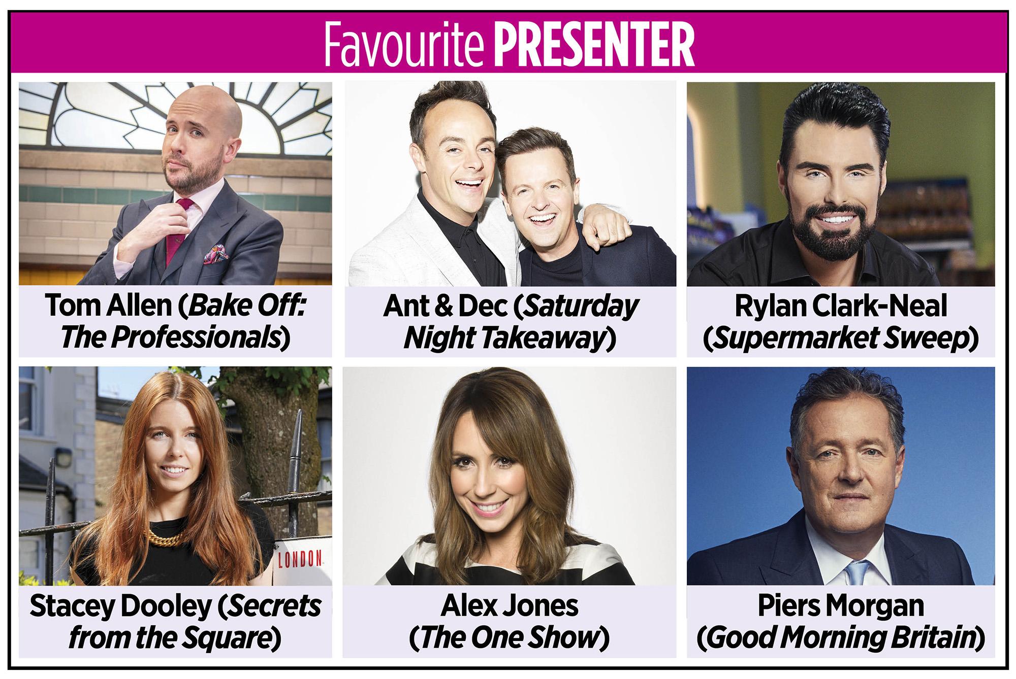 Presentadora favorita de los TV Times Awards 2020