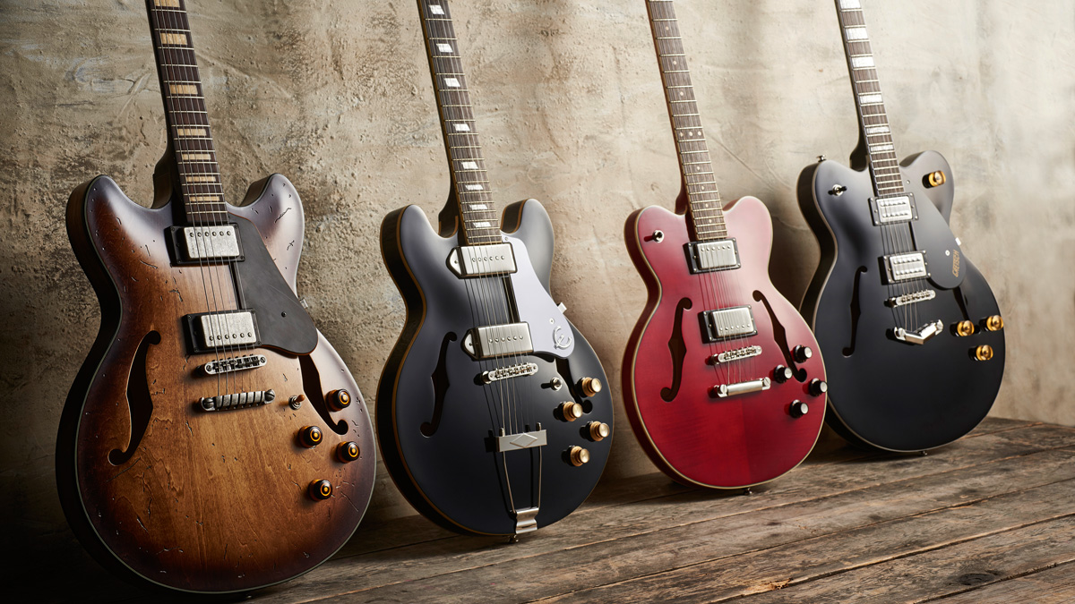 Review Round Up Semi Hollow And Hollowbody Guitars Musicradar