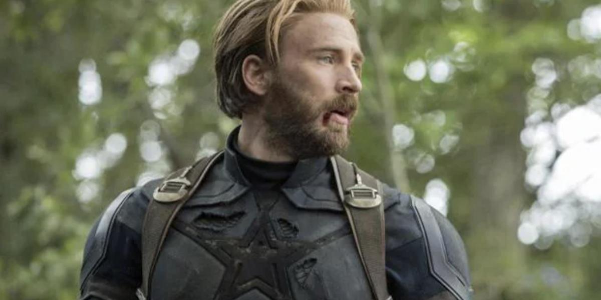 Chris Evans in Avengers: Infinity War